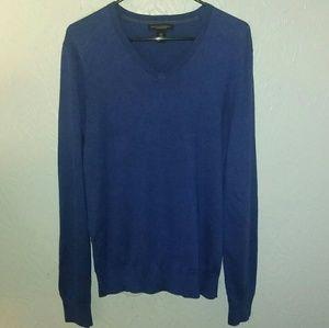New Banana Republic Sweater M Silk Cashmere Blue